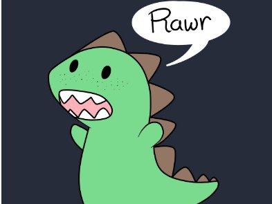 Подборка игровых анимаций с динозаврами