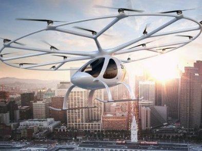 Аеротаксі: хто розробляє пасажирські коптери