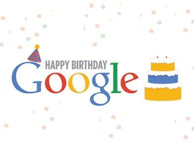 З Днем народження! Пошукова система Google відзначає 21 рік святковим Doodle