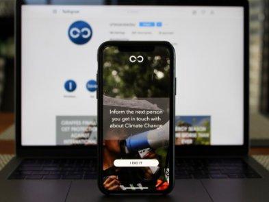 Студент розробив мобільний додаток, який щодня підказує, як рятувати світ
