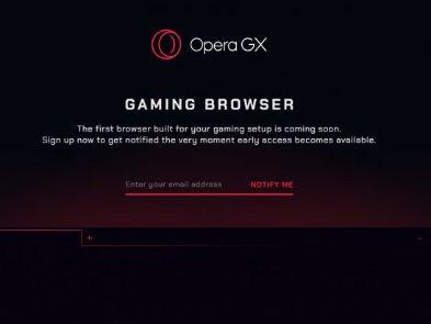 Opera GX: скоро появится первый в мире игровой браузер