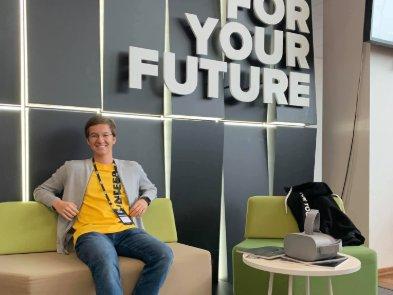 Український школяр створив пристрій для незрячих, кращий та дешевший за іноземні аналоги