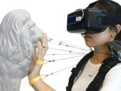 Теперь VR можно пощупать: Wireality