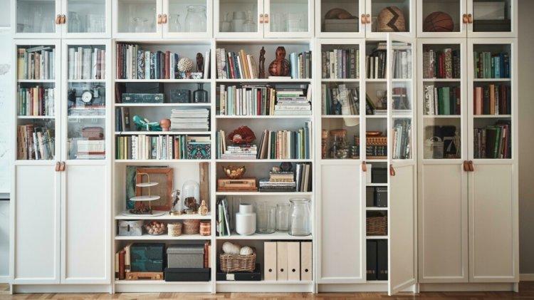 Книжкова шафа IKEA «Біллі», 1979 рік