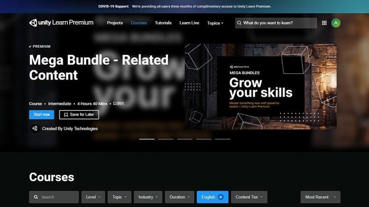 Unity відкрила безкоштовний доступ до преміум курсів для геймдевелоперів
