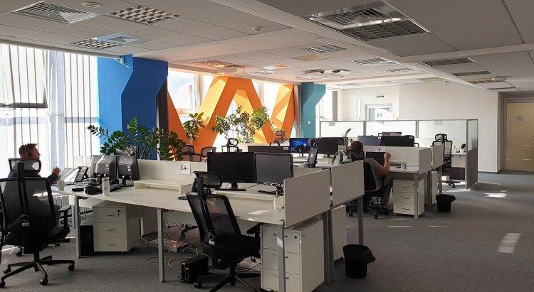 Программисты в киевском офисе Luxoft Украина. Фото предоставлено пресс-службой