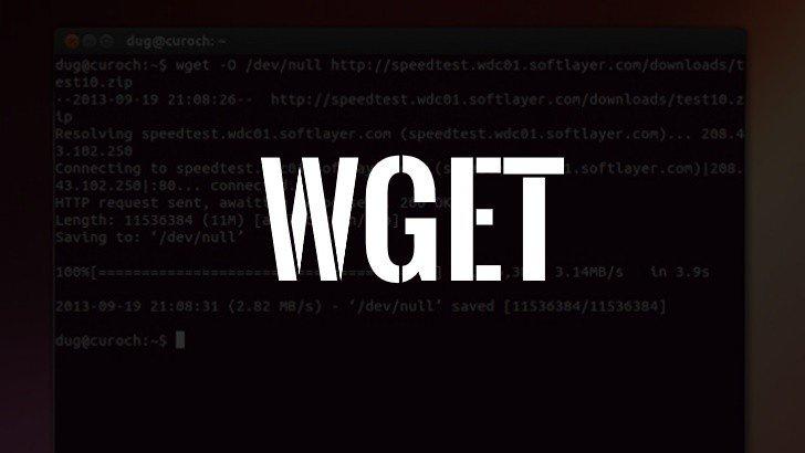 10 прикладів використання wget