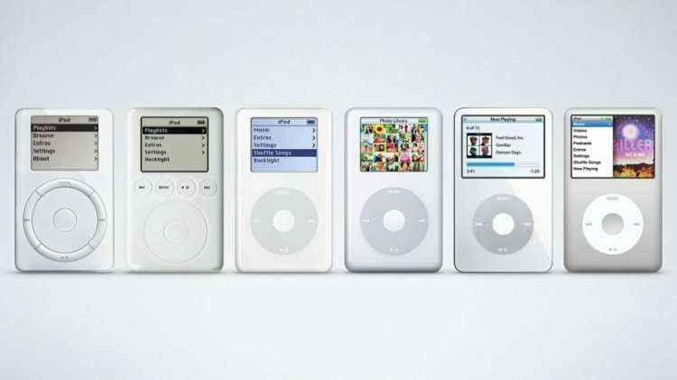 iPod, 2001 рік