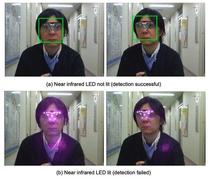 Ісао Ечізен, професор Національного інституту інформатики в Токіо, розробив «візор конфіденційності»,
