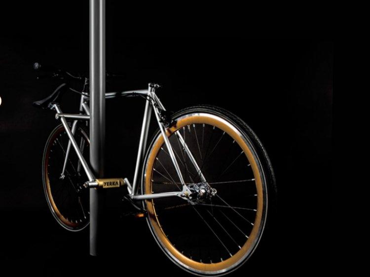 Велосипед, защищенный от краж