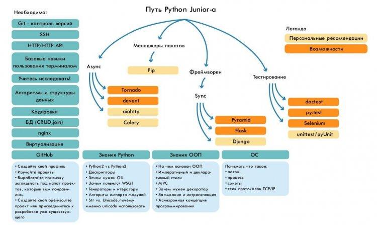 Путь Python-разработчика