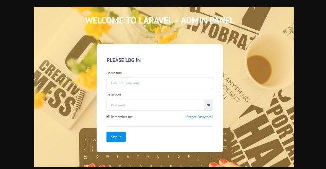 10 бесплатных админ панелей и шаблонов для Laravel