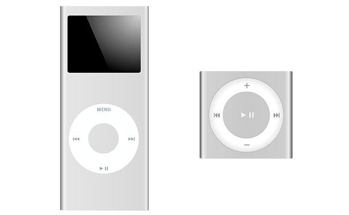 Плееры iPod Nano и iPod Shuffle