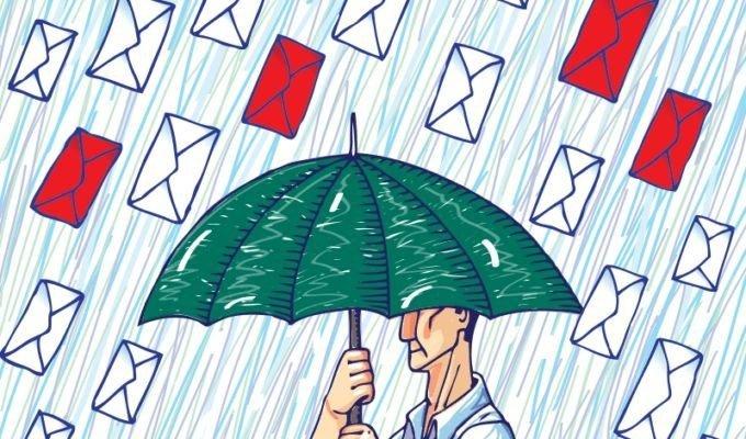 Первая попытка отправить спам-рассылку