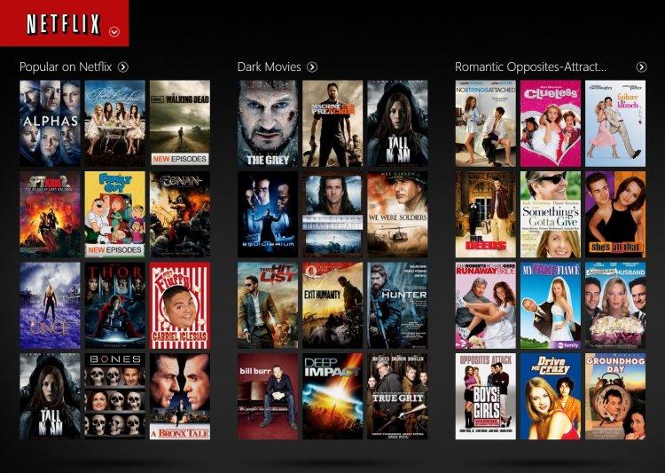 Netflix и потоковые сервисы
