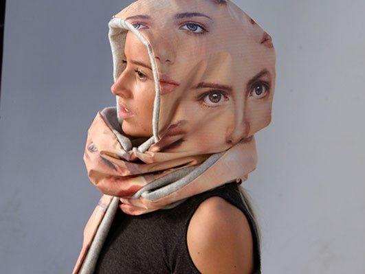 Санні Уікерс, студентка дизайну з Нідерландів, придумала шарф