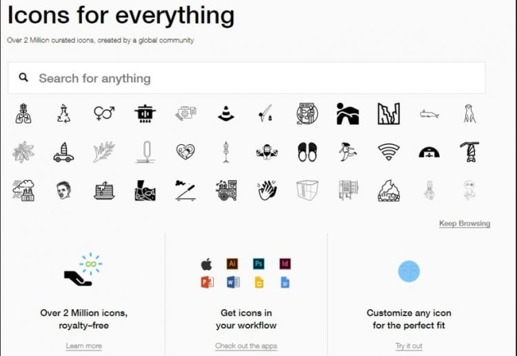 Где искать иконки для сайта: 20 лучших ресурсов