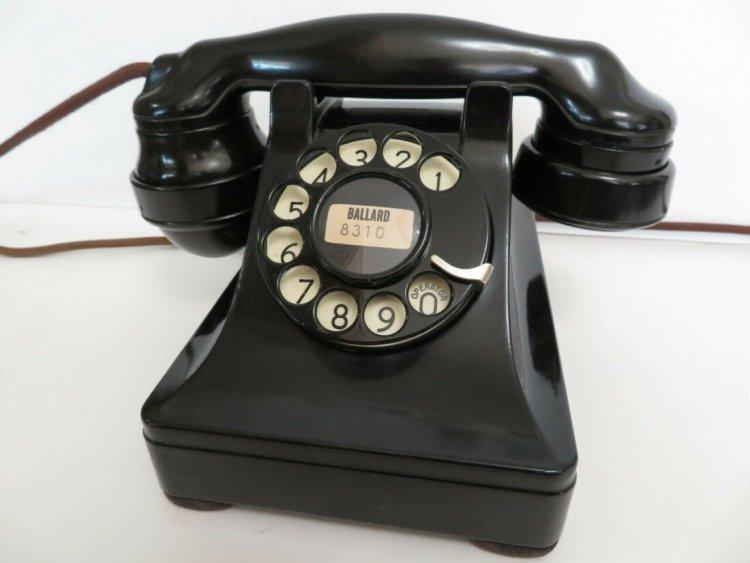 Телефон моделі 302, 1937 рік