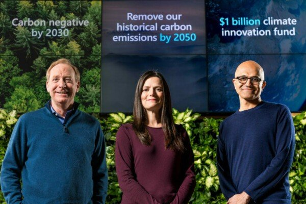 Microsoft і  екологічні обіцянки