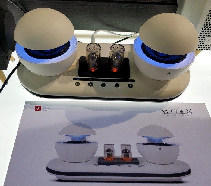 Портативна лампова акустична система 2Е MOON оригінального дизайну