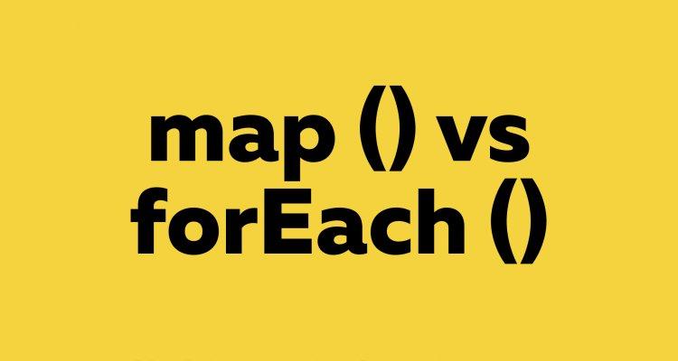 4 основных различия между forEach () и map ()