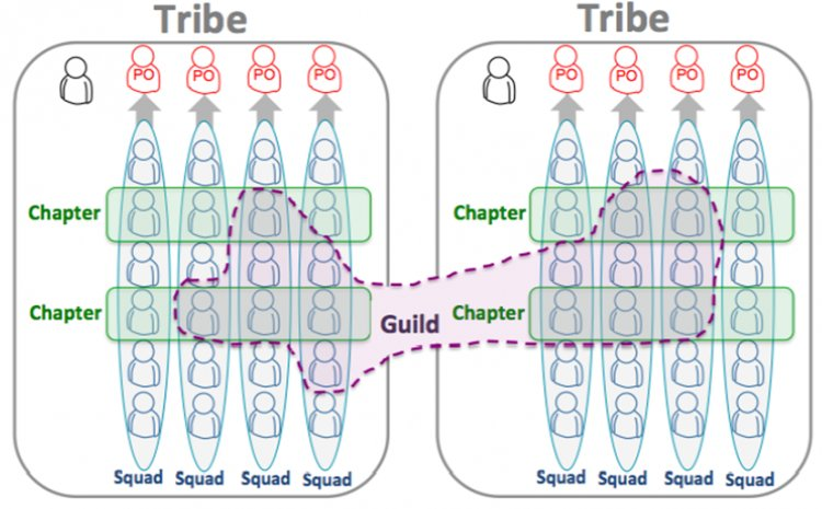 Отряды, племена и гильдии: как устроена автономия в Spotify