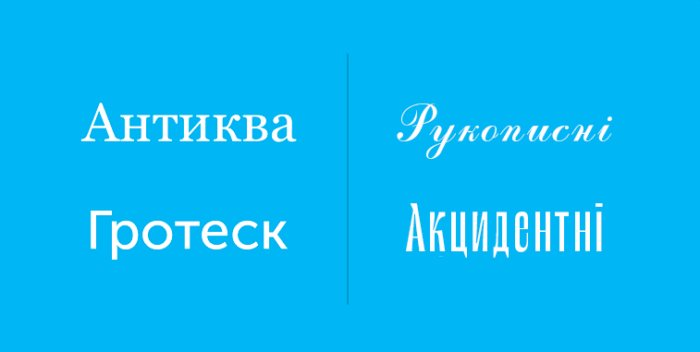 Що потрібно знати про вибір потрібного шрифту?
