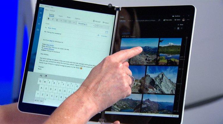 Microsoft випустила першу версію Windows 10X для подвійних екранів: новий дизайн, відсутність вікон та інші деталі