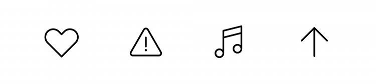 Ясність, читабельність, стислість: сім принципів вдалого дизайну іконок