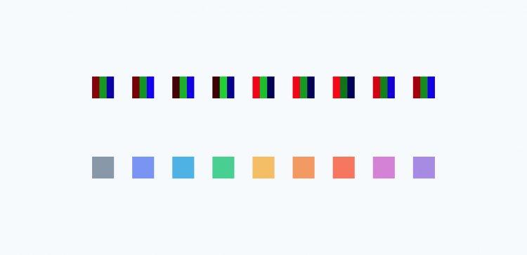 Як створити систему контрасту кольорів в дизайні