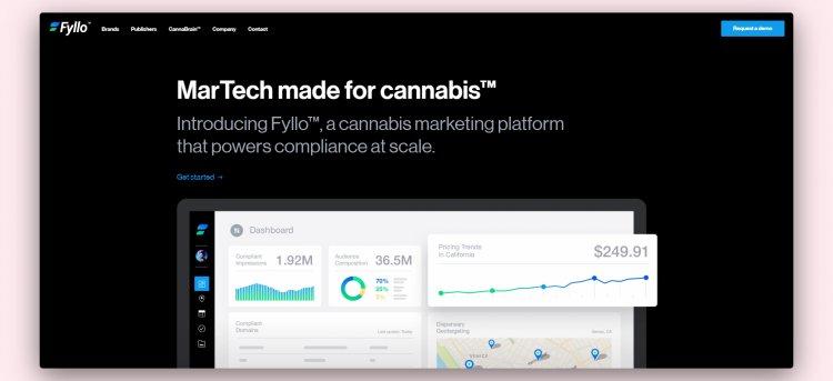 Сервіс робить інструменти для реклами марихуани