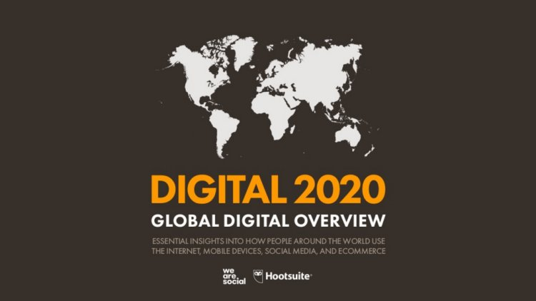Вийшов свіжий звіт Digital 2020 Global Overview про цифрові тренди