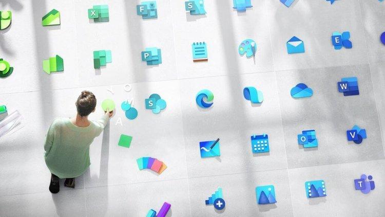 Microsoft оновила дизайн логотипу Windows і значки 100 системних сервісів, інструментів і додатків