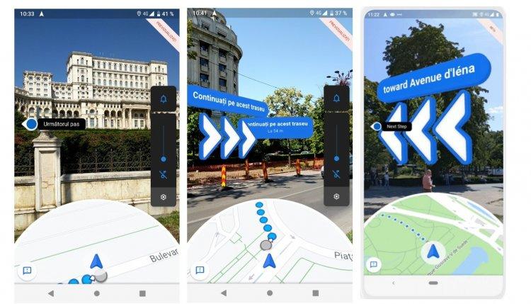 Google Maps запускает AR Directions для пользователей Android и iPhone