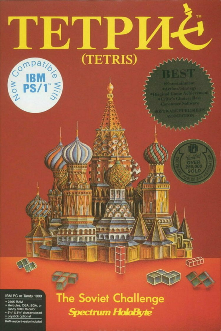 Придумать популярную игру, но не суметь на ней заработать: история «Тетриса» и его изобретателя