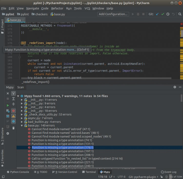 6 расширений Python для IntelliJ IDEA