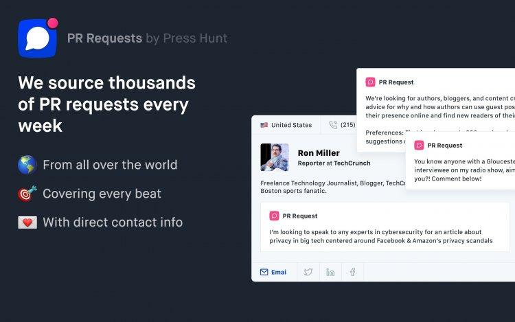 PR Requests: майданчик, що сполучає журналістів і експертів