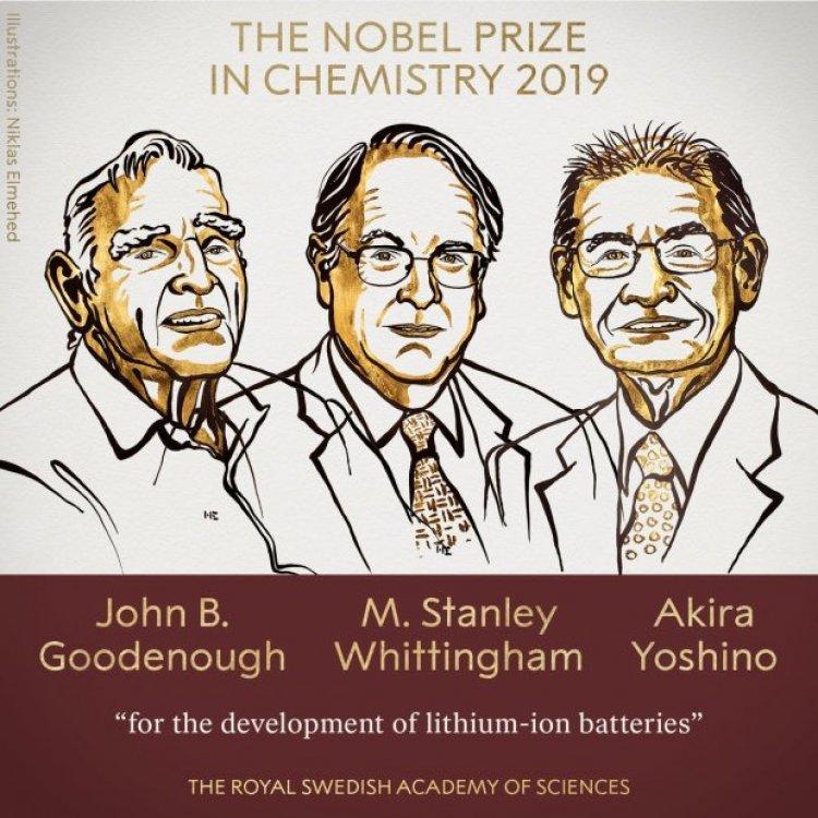 Історія створення літій-іонних батарей: чим троє науковців заслужили Нобелівську премію