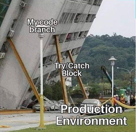 Когда взял новый проект который уже делали
