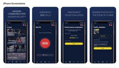 У Києві тестують додаток My Pol для швидкого зв'язку з поліцією