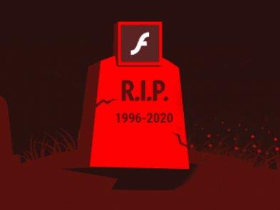 Adobe Flash окончательно прекратил своё существование