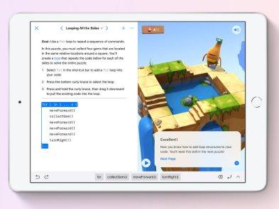 Apple выпустила уроки программирования Swift Playgrounds на Маc