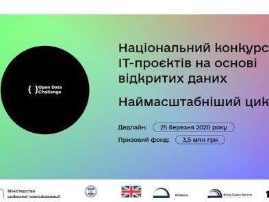 Кабмин объявил конкурс полезных проектов с призом 3,5 млн грн