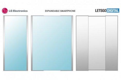 LG запатентувала незвичайний смартфон-слайдер: фото