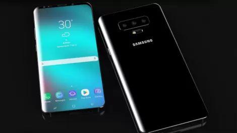 """""""Гибкий"""" смартфон Samsung получит три камеры"""