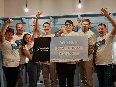 Украинский ИТ-проект Deep Green Ukraine выиграл 1,4 млн гривен от Open Data Challenge