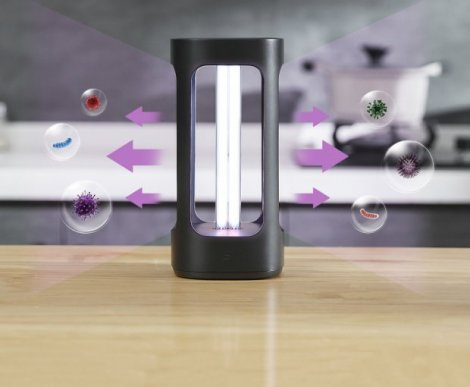 Xiaomi створила спеціальну лампу для дезінфекції