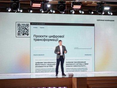 Михайло Федоров презентував 94 проєкти цифрової трансформації