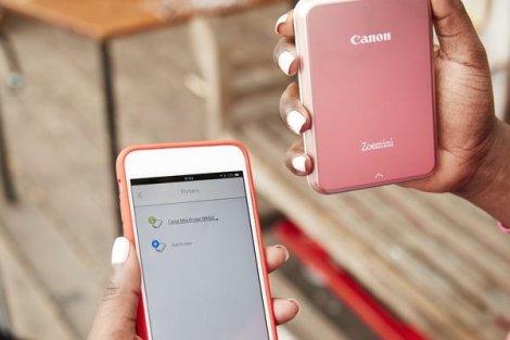 Canon выкатывает новый компактный принтер Zoemini