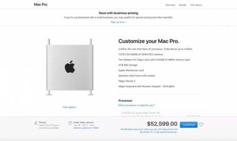 Apple Mac Pro (2019) офіційно надійшов у продаж: ціни шокують